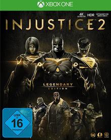 Verpackung von Injustice 2 Legendary Edition [Xbox One]