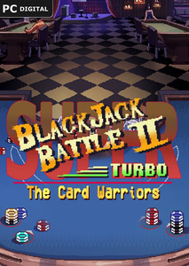 Packaging of Super Blackjack Battle 2 Turbo Edition - The Card Warriors [PC]
