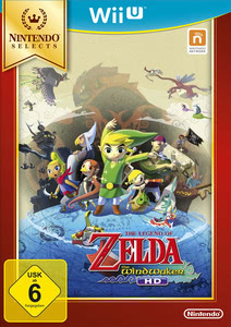Verpackung von Nintendo Selects - The Legend of Zelda: The Wind Waker HD [Wii U]