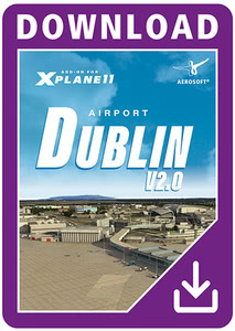 Packaging of X-Plane 11 Airport Dublin V2.0 XP [PC / Mac]