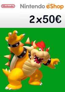 Verpackung von Nintendo eShop Guthaben Code 100 Euro [3DS / Wii U / Switch]