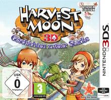 Verpackung von Harvest Moon 3D: Geschichten zweier Städte - Sticker Edition [3DS]
