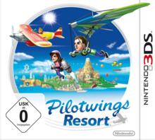 Verpackung von Pilotwings Resort [3DS]