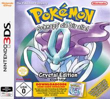 Verpackung von Pokémon Kristall-Edition (Code-only) [3DS]