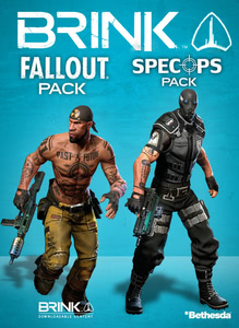 Packaging of Brink DLC: Fallout/Spec Ops Combo Pack [PC]