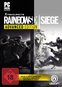 Verpackung von Tom Clancy's Rainbow Six Siege - Advanced Edition [PC]