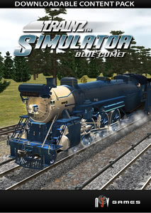 Packaging of Trainz Blue Comet [PC]