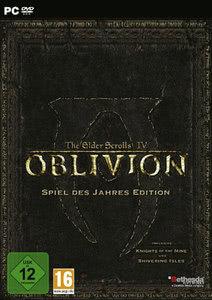 Verpackung von The Elder Scrolls IV: Oblivion Game of the Year [PC]