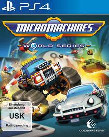 Verpackung von Micro Machines World Series [PS4]