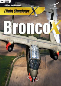 Packaging of FSX Bronco X [PC]