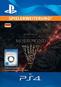 Verpackung von The Elder Scrolls Online: Morrowind (Upgrade Standard Edition) [PS4]