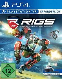 Verpackung von RIGS: Mechanized Combat League (only VR) - Playstation VR erforderlich [PS4]