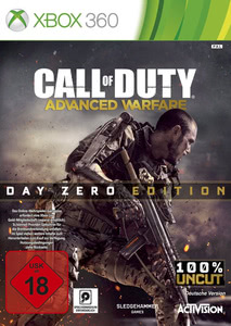 Verpackung von Call of Duty: Advanced Warfare Day Zero Edition [Xbox 360]