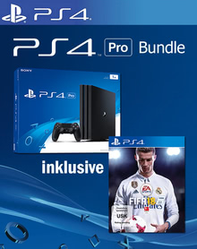 Verpackung von Sony PlayStation 4 Pro 1TB + Fifa 18 [PS4]