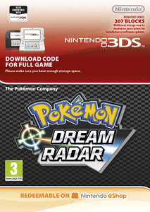 Packaging of Pokémon Dream Radar [3DS]