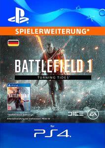 Verpackung von Battlefield 1 Turning Tides - deutsches PSN-Konto [PS4]