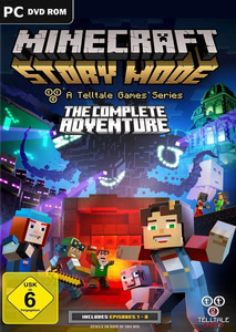 Verpackung von Minecraft: Story Mode - The Complete Adventure [PC]