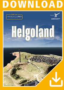 Packaging of Aerofly FS 2 Helgoland [PC]