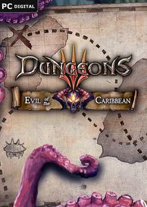 Packaging of Dungeons 3 Evil of the Caribbean [PC / Mac]