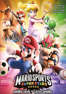Verpackung von Mario Sports Superstars amiibo-Karten (5 Stück) [3DS]