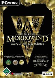 Verpackung von The Elder Scrolls III: Morrowind Game of the Year [PC]