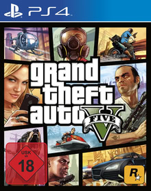 Verpackung von Grand Theft Auto V [PS4]