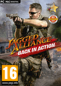 Packaging of Jagged Alliance: Back in Action [PC / Mac]