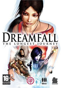 Packaging of Dreamfall: The Longest Journey [PC]
