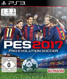 Verpackung von Pro Evolution Soccer 2017 [PS3]