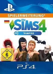 Verpackung von Sims 4 Vampires - Deutsches PSN-Konto [PS4]