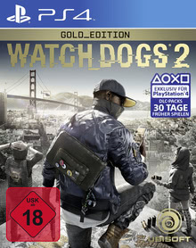 Verpackung von Watch Dogs 2 Gold Edition [PS4]