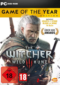 Verpackung von The Witcher 3: Wild Hunt - Game of the Year Edition [PC]