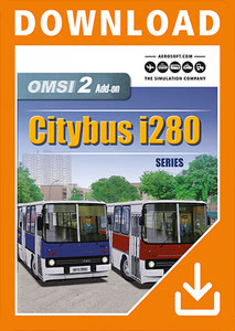 Packaging of OMSI 2 Add-On Citybus i280 Series [PC]