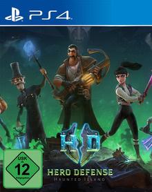 Verpackung von Hero Defense: Haunted Island [PS4]