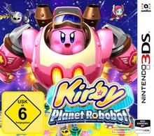 Verpackung von Kirby: Planet Robobot [3DS]