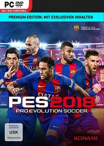 Verpackung von Pro Evolution Soccer 2018 Premium Edition [PC]