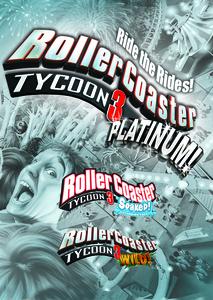 Verpackung von RollerCoaster Tycoon 3: Platinum [PC]