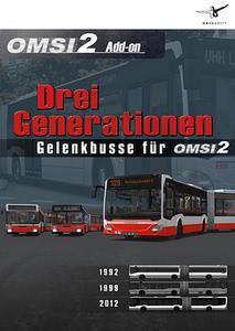 Verpackung von OMSI 2 Drei Generationen [PC]