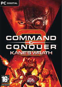 Packaging of Command & Conquer 3: Kane's Wrath [PC]