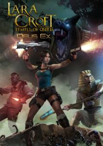Packaging of LARA CROFT AND THE TEMPLE OF OSIRIS Deus Ex Pack [PC]