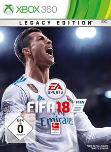 Verpackung von Fifa 18 Legacy Edition [Xbox 360]