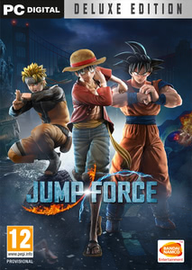 Packaging of Jump Force Deluxe Edition [PC]