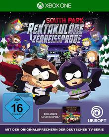 Verpackung von South Park: Die rektakuläre Zerreißprobe [Xbox One]