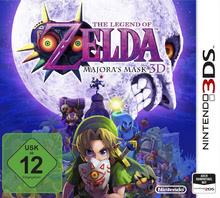 Verpackung von The Legend of Zelda: Majora's Mask 3D [3DS]