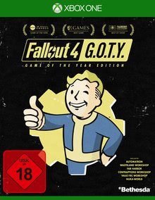 Verpackung von Fallout 4 Game of the Year Edition [Xbox One]