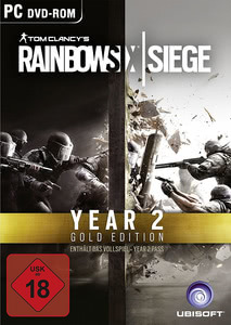 Verpackung von Tom Clancy's Rainbow Six: Siege Gold Edition - Year 2 Pass [PC]