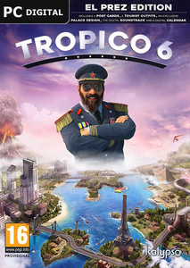 Packaging of Tropico 6 El Prez Edition [PC]