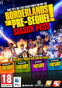 Packaging of Borderlands: The Pre-Sequel - Season Pass [Mac]