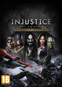 Packaging of Injustice Gods Among Us Ultimate Edition [PC]