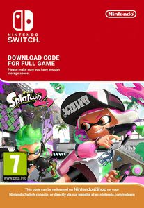 Packaging of Splatoon 2 [Switch]
